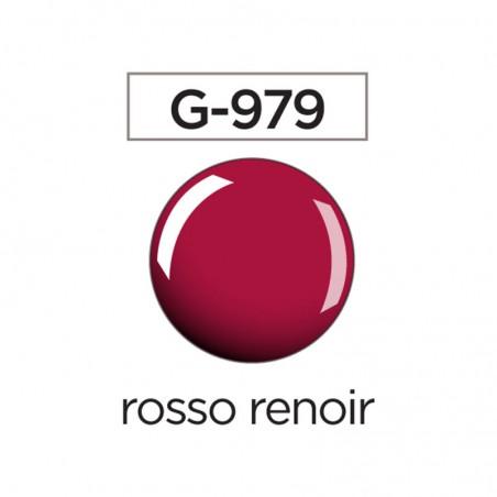 Smalto gel semipermanente USA col G979 rosso renoir
