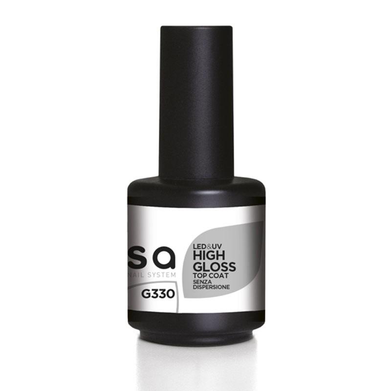 High gloss led&uv top coat extra lucido 15 ml G330