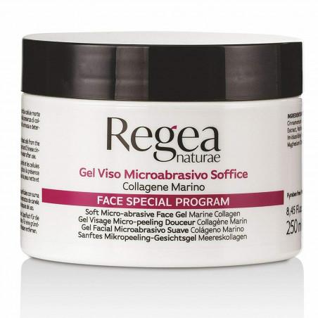 Gel viso microabrasivo soffice a base di collagene marino 250 ml