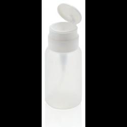 Flacone con pompa per solvente